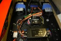 Empfänger Graupner  GR 32, mit Akkuweiche Baselog von Powerbox