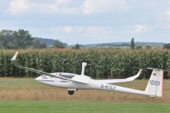 Segelflugzeug mit Elektromotor