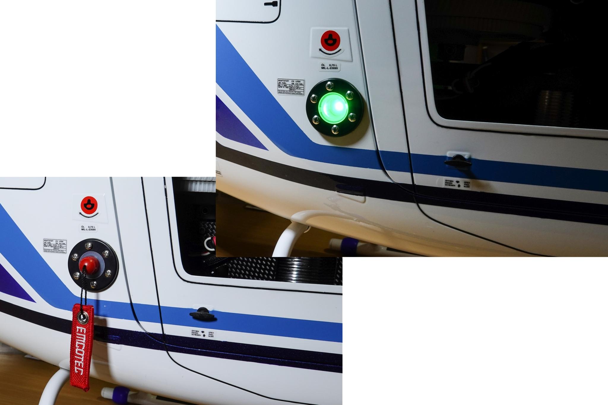 Elektr. Sicherheitsschalter - Form Tankverschluss