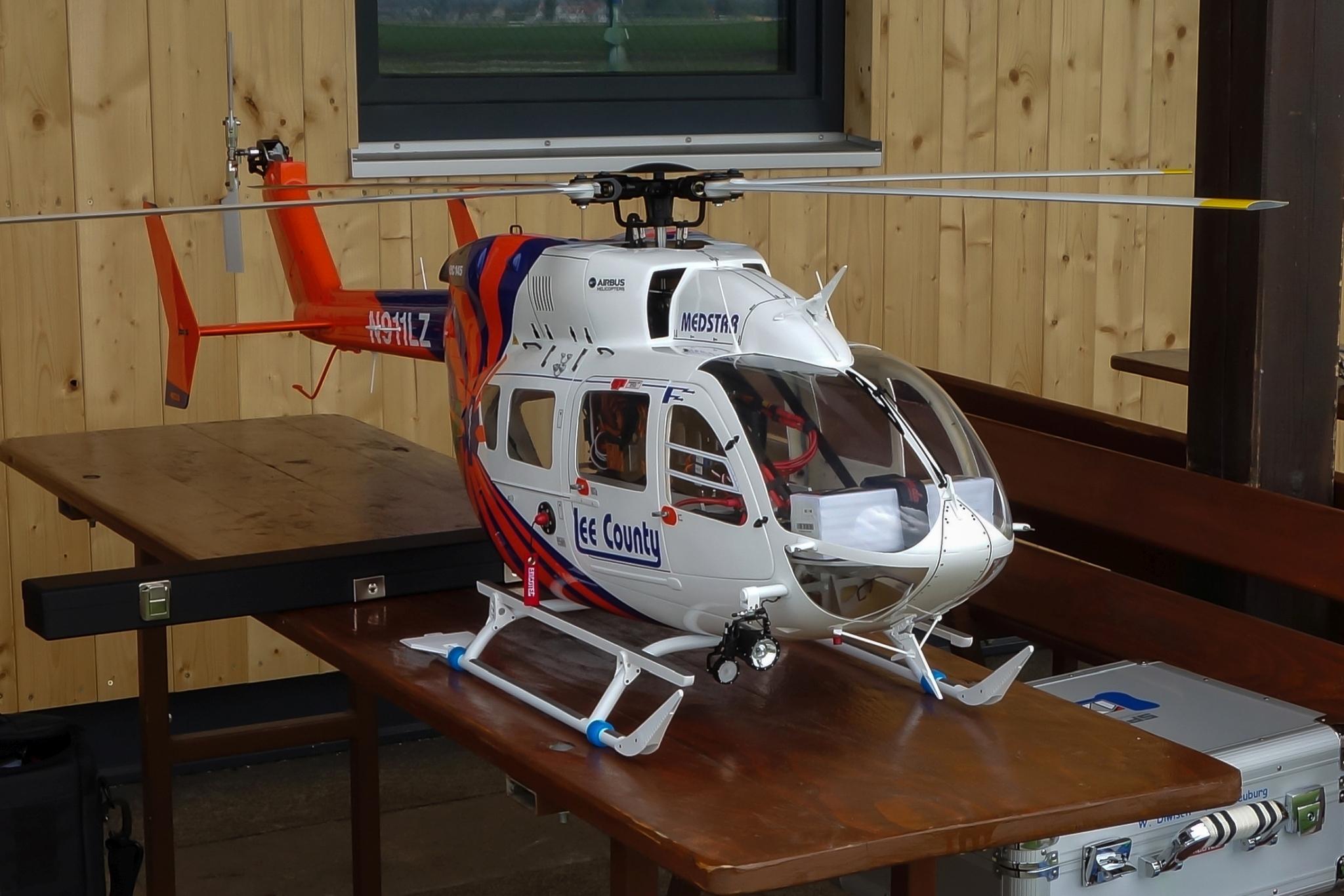 EC145 fertiggestellt und bereit zum Flug