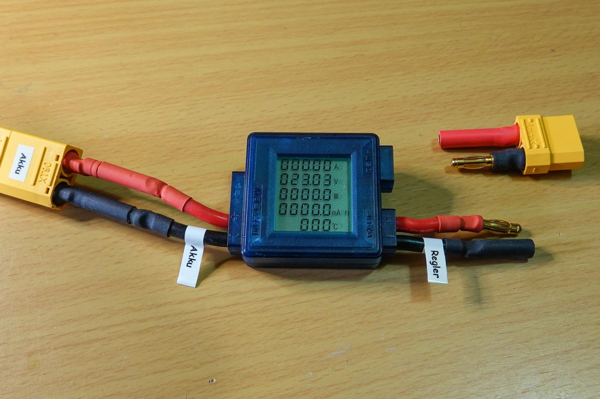 Leistungsmesser, Ampere-Wattmeter