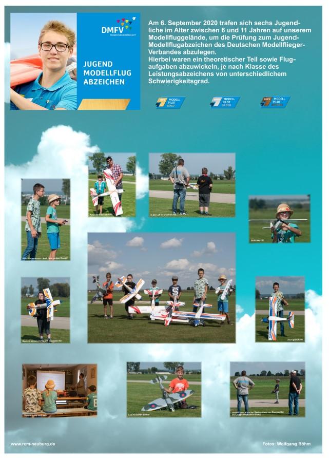 Jugend-Modellflugabzeichen am 6. September 2020