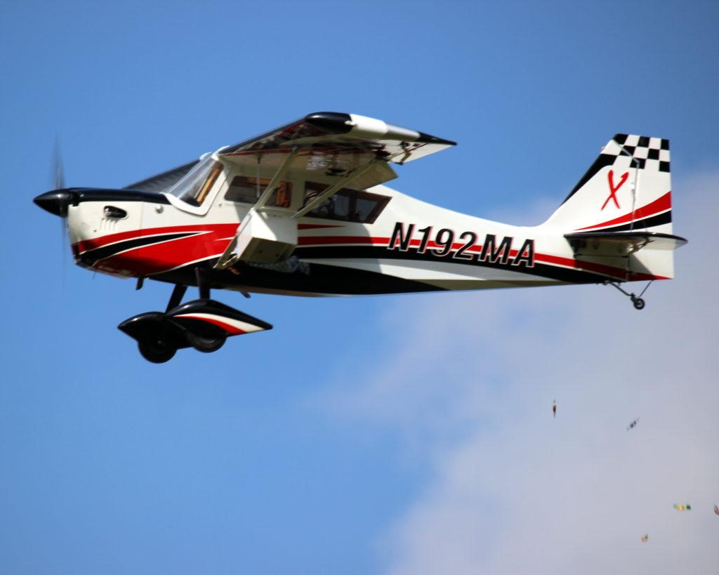 Schleppflugzeug Bellanca von Dominik Winter