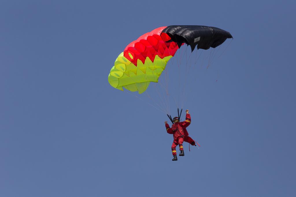 Fallschirmspringer von Thomas Boxdörfer