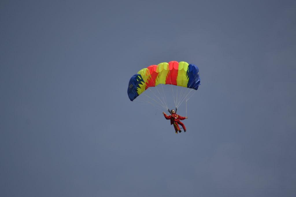 Fallschirmspringer von Günter Stetter